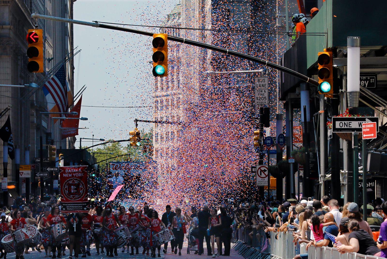 Hometown Heroes Ticker Tape Parade New York City