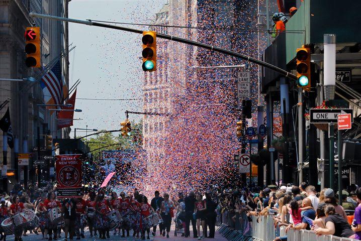 New York feiert seine Coronahelden