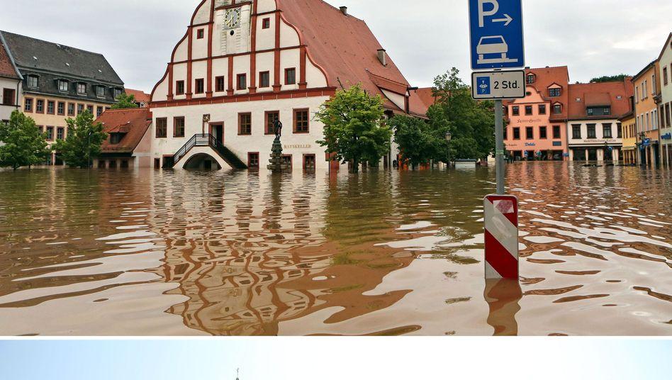 Rathaus in Grimma: Die womöglich teuerste Katastrophe aller Zeiten
