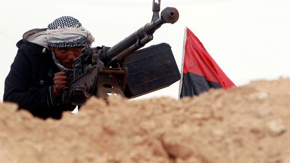 Krieg in Libyen: Nato verschärft Angriffe auf Gaddafi-Truppen