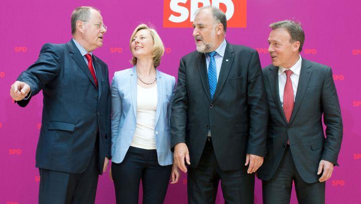 Steinbrücks Expertenteam: Kompetentes Trio