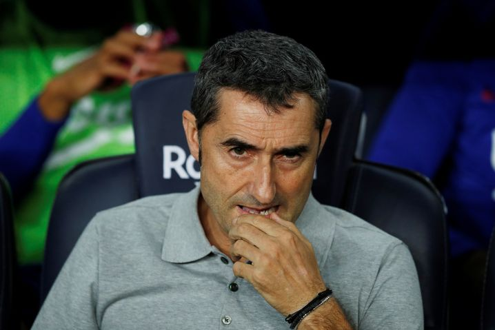 Ernesto Valverde steht massiv in der Kritik
