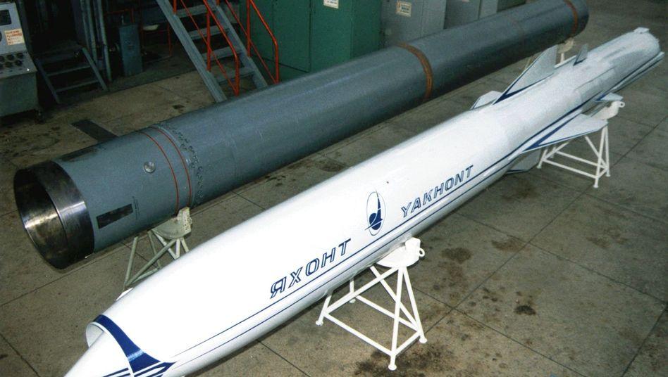 """Russische """"Jachont""""-Rakete: 72 Batterien hat Moskau geliefert"""