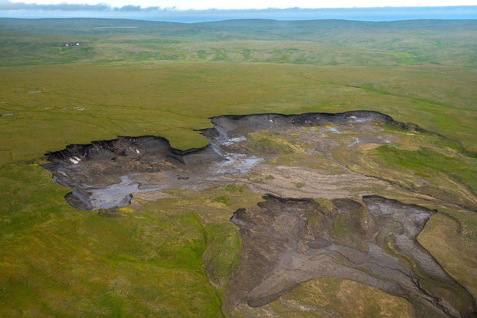 EINMALIGE VERWENDUNG Permafrostboden