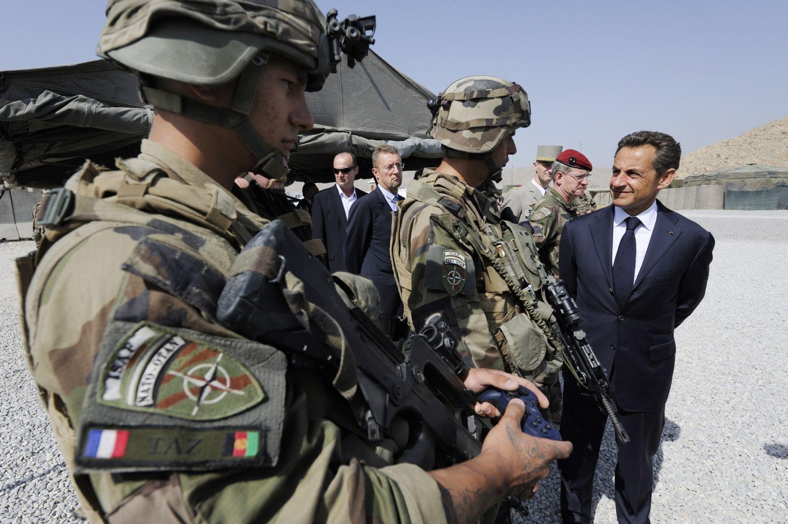 Afghanistan Sarkozy