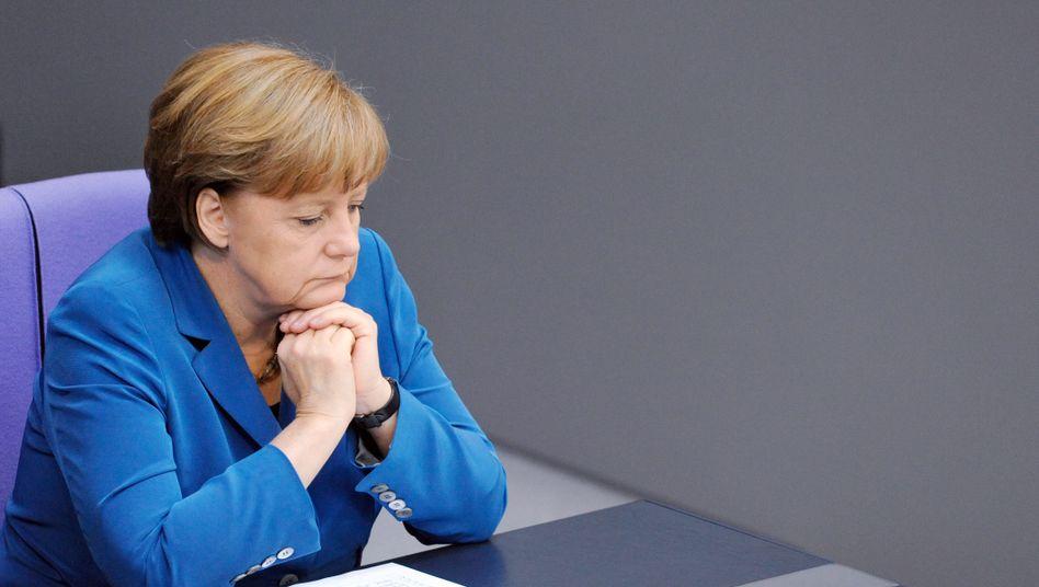 CDU-Chefin Merkel: Alles unter Kontrolle