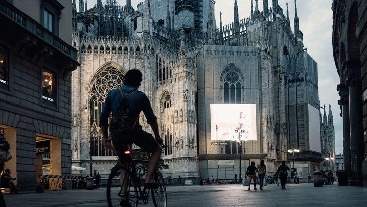 Mit dem Fahrrad durch die Metropole