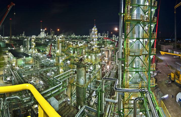 Raffinerie in Schwedt