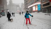 Spanien versinkt im Schnee