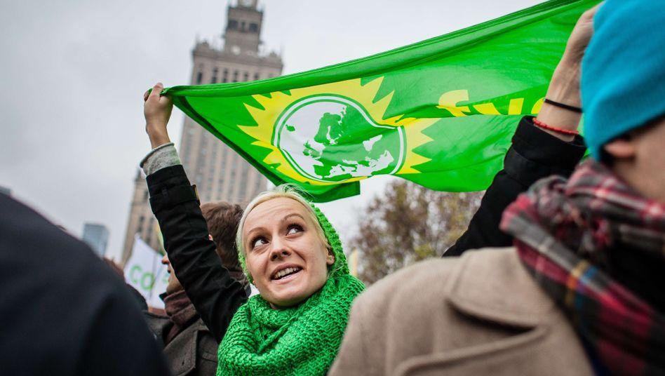 Umweltaktivistin in Warschau: Zweigeteilte Welt