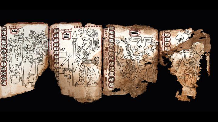 Maya-Archäologie: Das Papier aus der Höhle