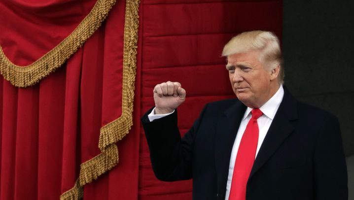Präsident Donald Trump: Amtseid vor dem Kapitol