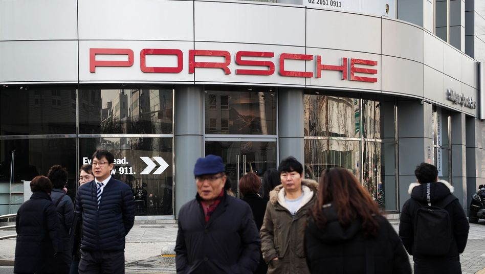 Porsche-Autohaus in Seoul