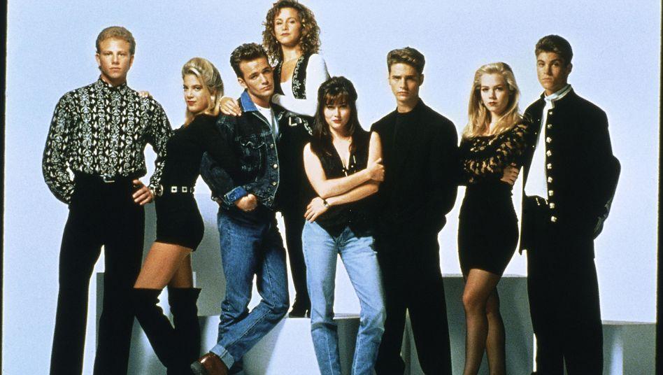 Originalbesetzung aus den Neunzigerjahren: Die Crew von Beverly Hills 90210