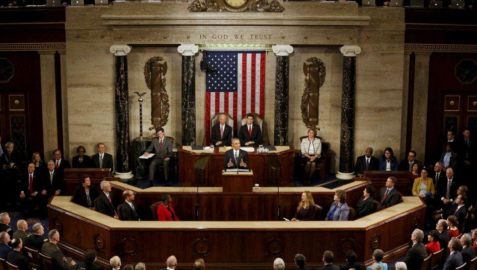Rede zur Lage der Nation: Obama weist Amerika denWeg in die Zukunft