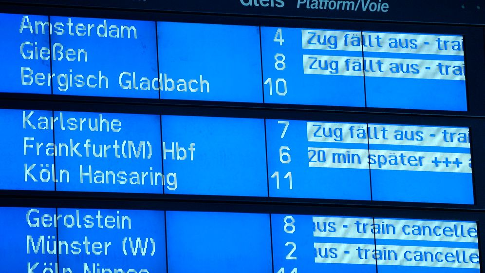 Photo Gallery: Rough Ride For German Rail