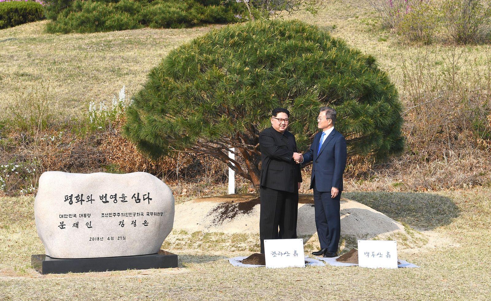 Moon Jae In / Kim Jong Un
