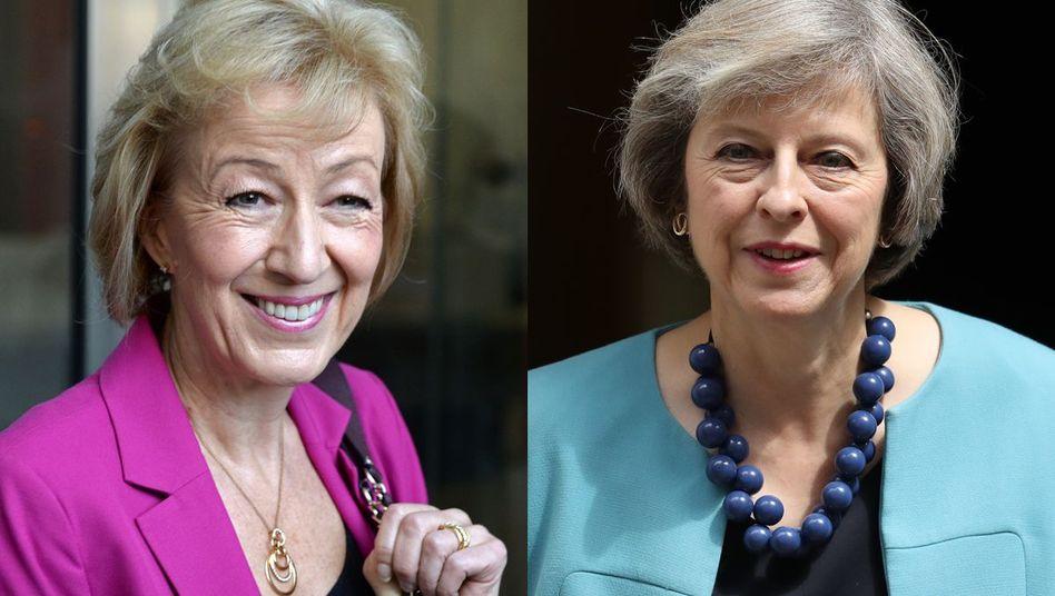 Andrea Leadsom, Theresa May