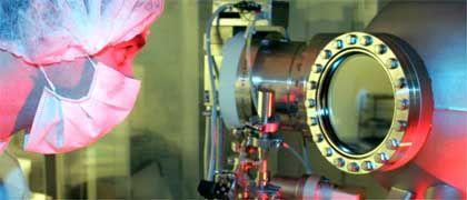 Pilotanlage am Fraunhofer-Institut für Werkstoff- und Strahltechnik in Dresden: Anlass für größte Hoffnung