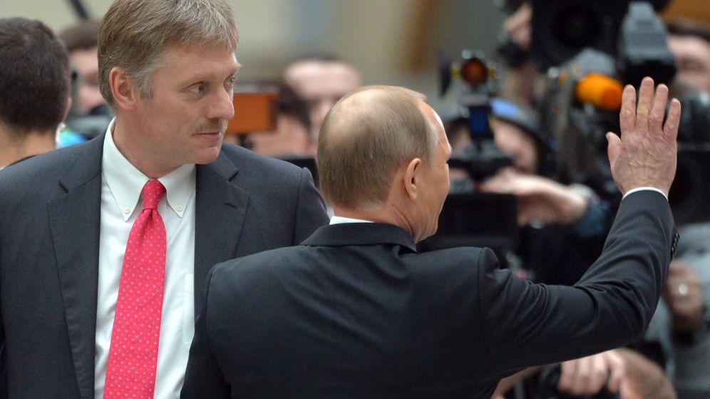 Putins Sprecher: 700.000-Dollar-Protz am Handgelenk