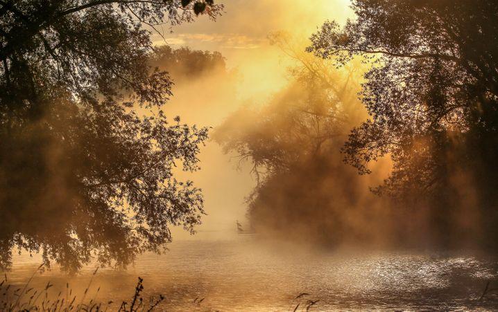 Die noch junge Donau bei Riedlingen, auch eine Empfehlung zum »Wild swimming«