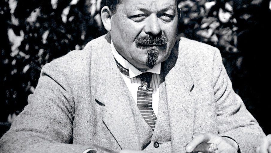 Reichspräsident Friedrich Ebert, um 1920