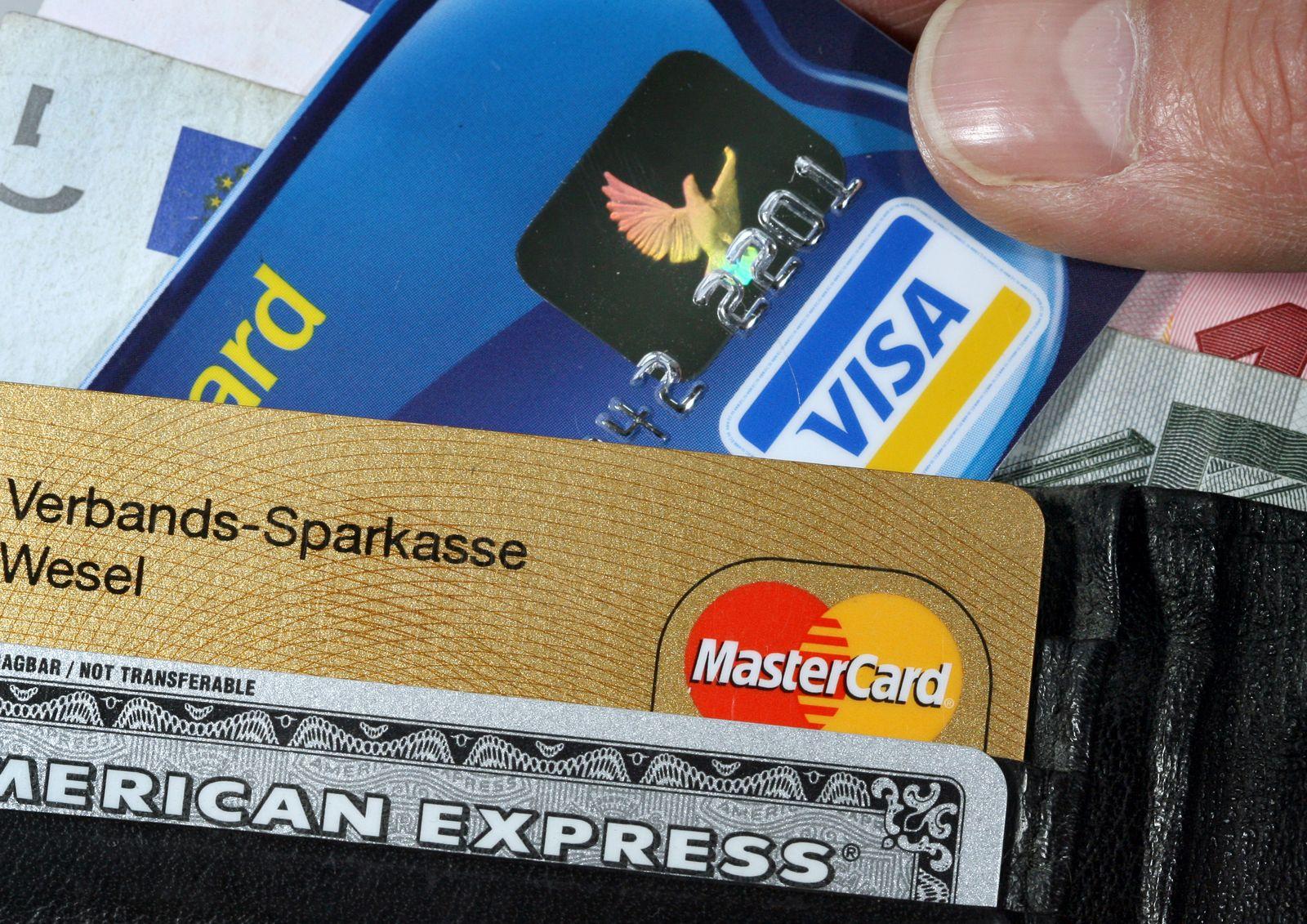 Kreditkarten / Portemonnaie