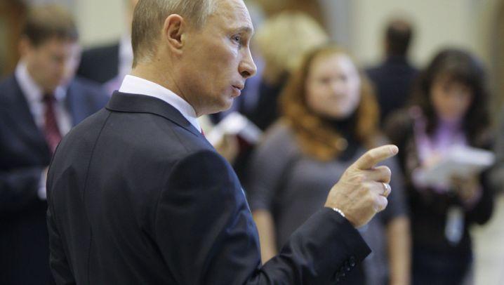 """Russland: Putin als """"Retter der Nation"""""""
