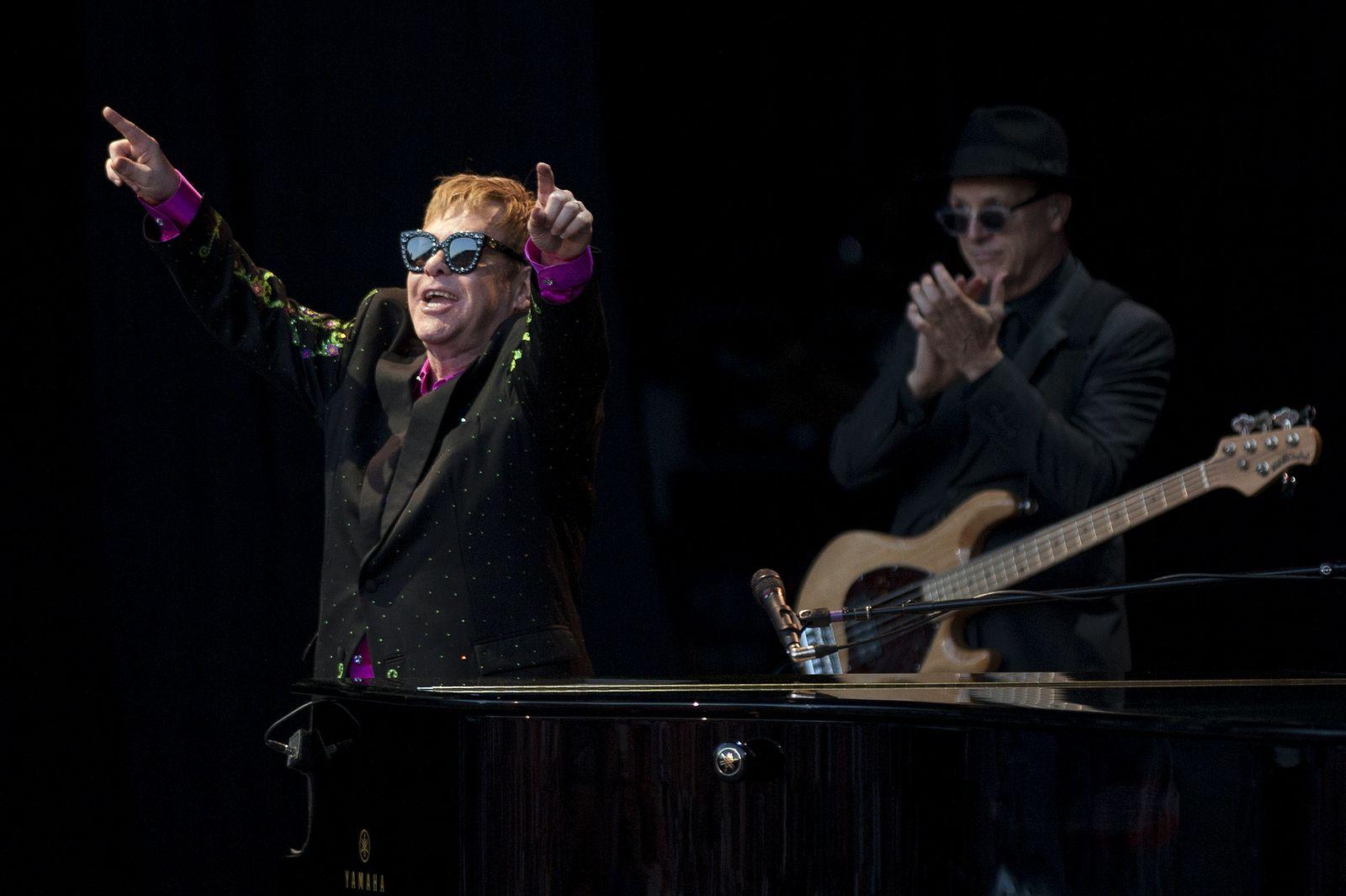 Elton John/ Ende Bühnenkarriere
