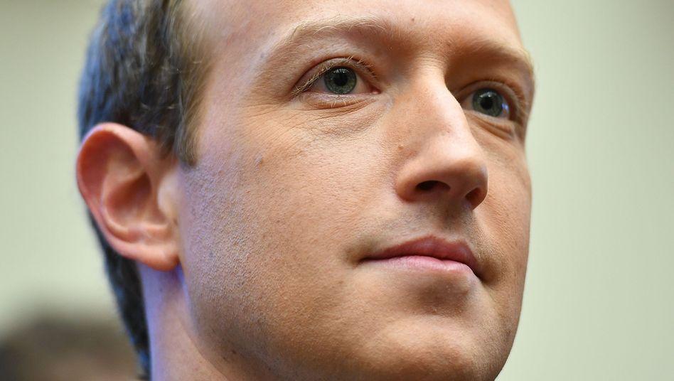 Facebook-Gründer Mark Zuckerberg: Von Twitters Vorgehen distanziert