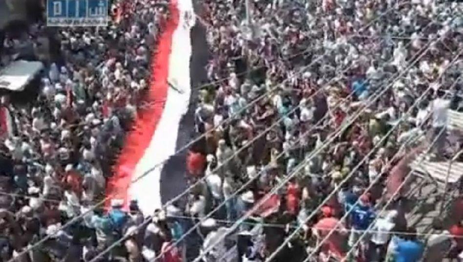 Protest bei Freitagsgebet in Syrien: Aktivisten schlagen mit Facebook zurück