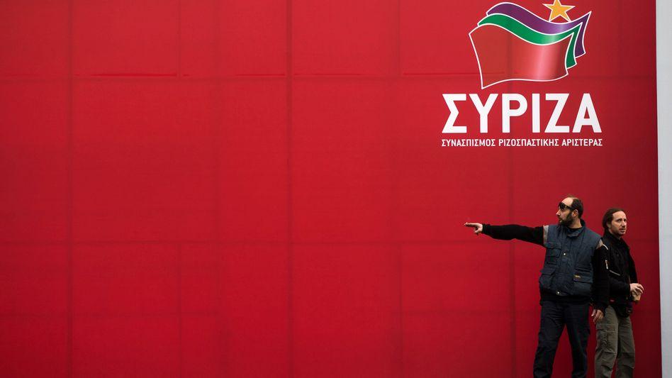 Wahlkampf in Athen: Die linke Syriza liegt vorn