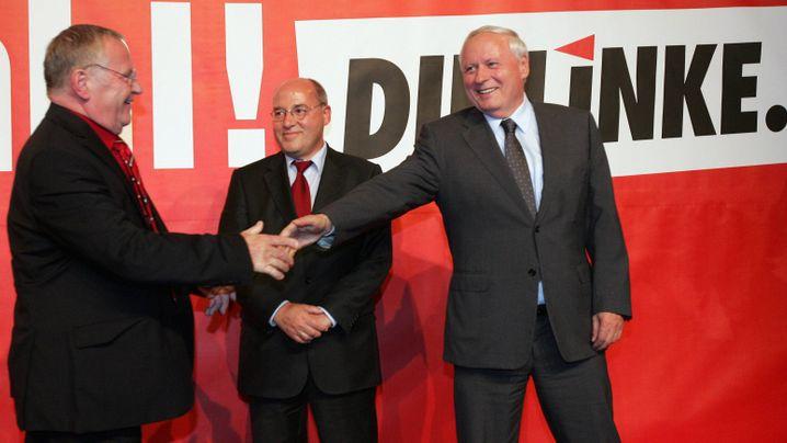 Linke, Grüne und SPD: Gemeinsam auf der Oppositionsbank