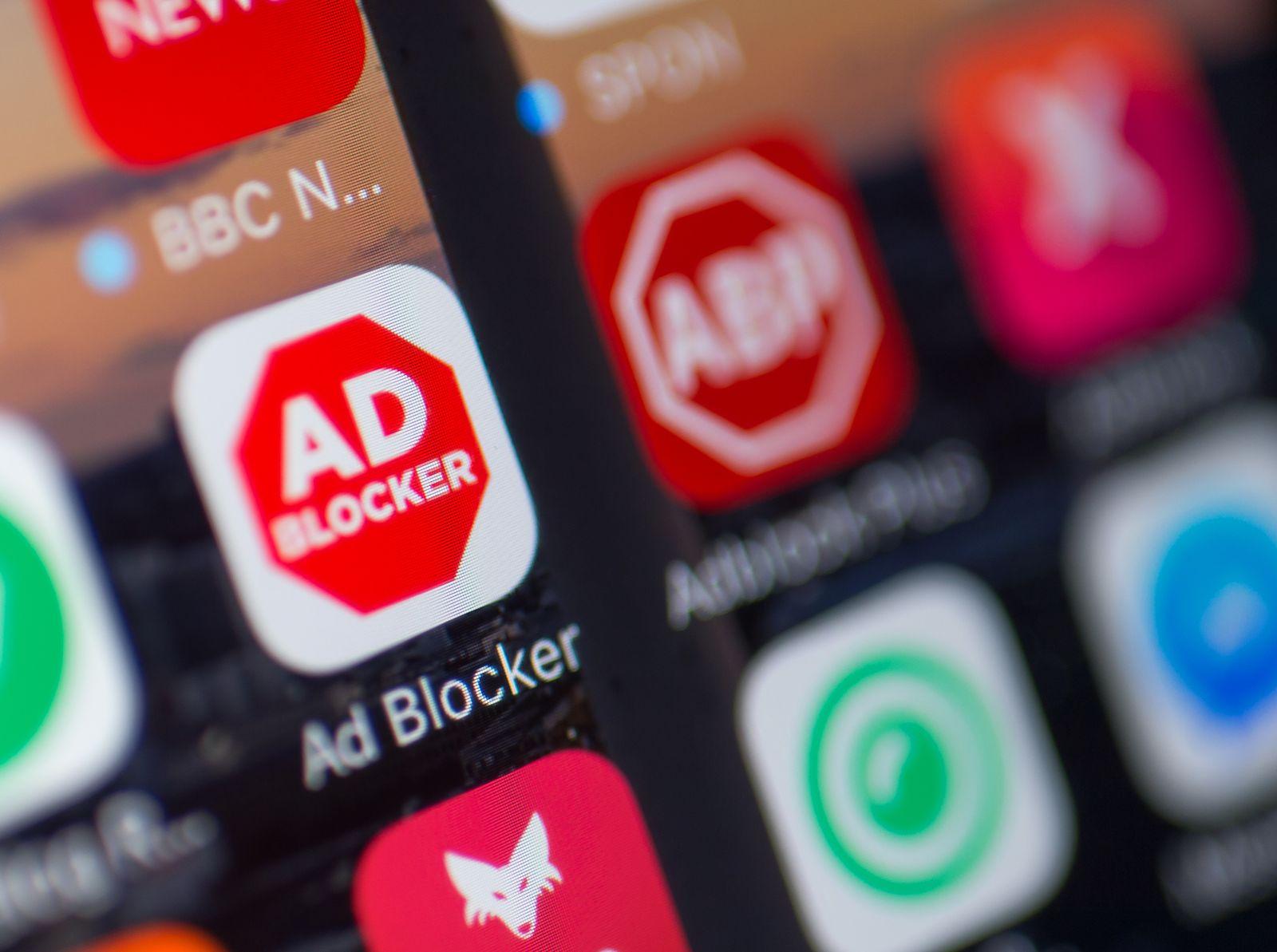 Werbeblocker AdBlock/ Adblocker