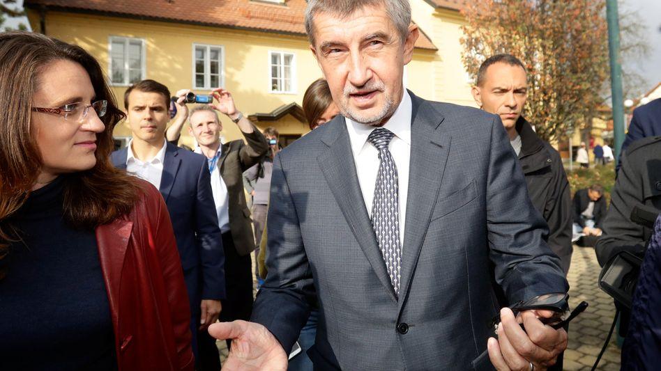 Tschechiens Ministerpräsident Andrej Babis