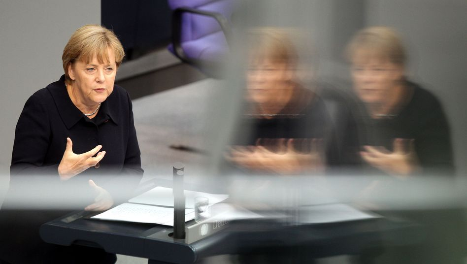 German Chancellor Angela Merkel said that treaty amendments might be needed to bind Europe closer together.