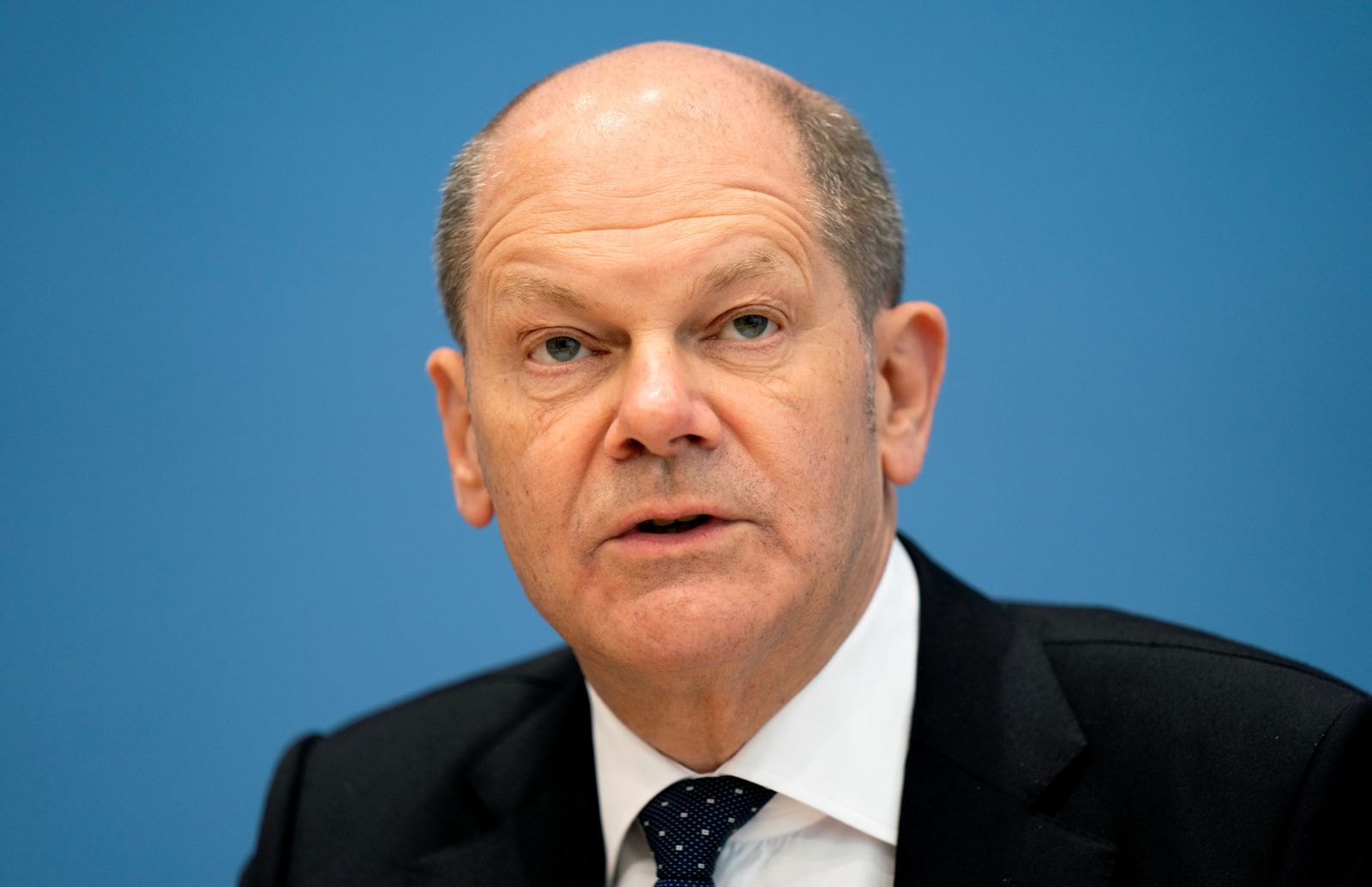 News conference on the tax estimate in Berlin