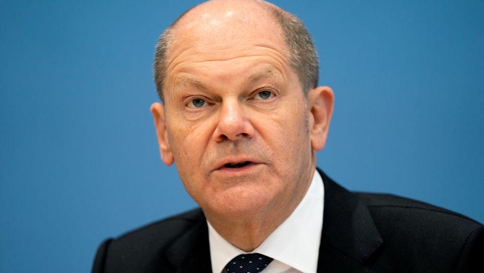 Finanzminister Olaf Scholz: »Lasst uns den übrig gebliebenen Solidaritätszuschlag zur Refinanzierung der Kosten der Corona-Pandemie beibehalten«