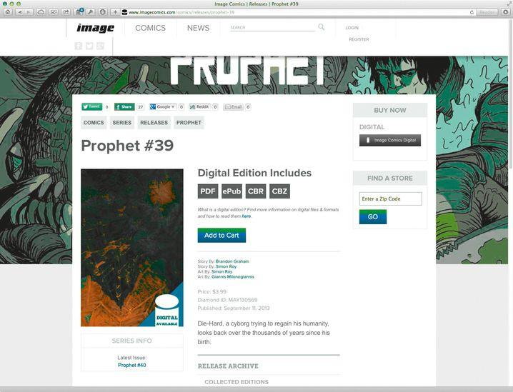 Image Comics: Der Verlag bietet Digitalausgaben im CBR- und CBZ-Format