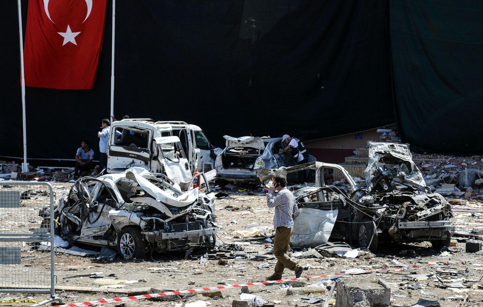 Türkei/ Bombe/ Elazig