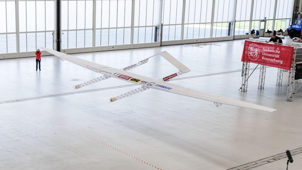 Weltrekord an der TU Braunschweig: So sehen Flieger aus