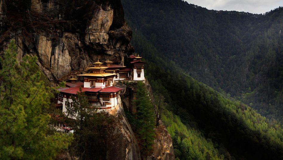 Kloster in Bhutan: Glück statt BIP?