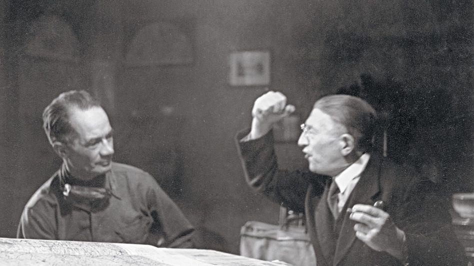 US-General Allen, Abgesandter Luckner bei Geheimverhandlungen im April 1945: »Mein Graf, ich bombardiere heute Nacht«