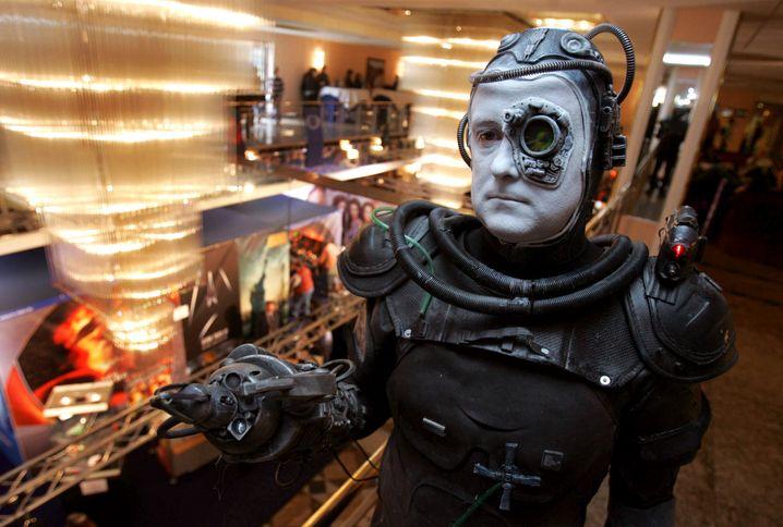 Ein als Borg verkleideter Gast einer Sci-Fi-Messe (Archivbild)