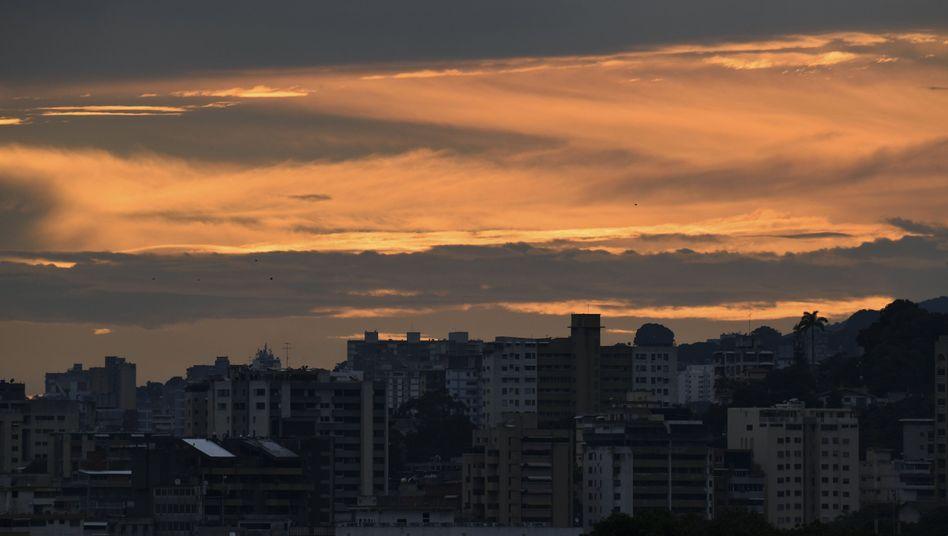 Caracas im Dunkeln: In Venezuela müssen erneut zahlreiche Menschen ohne Strom auskommen