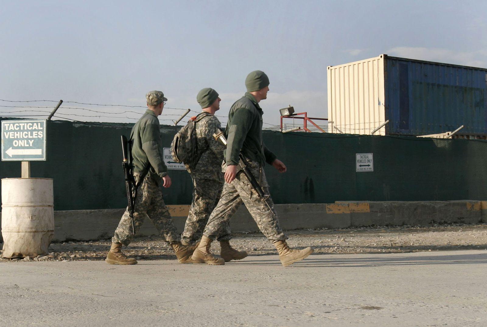 Afghanistan / US-Stützpunkt Bagram