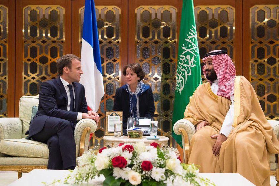 Libanon/ Macron/ Mohammed bin Salman