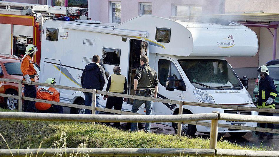 Brennendes Wohnmobil in Eisnach: Mutmaßliche Täter sollen keine V-Männer gewesen sein