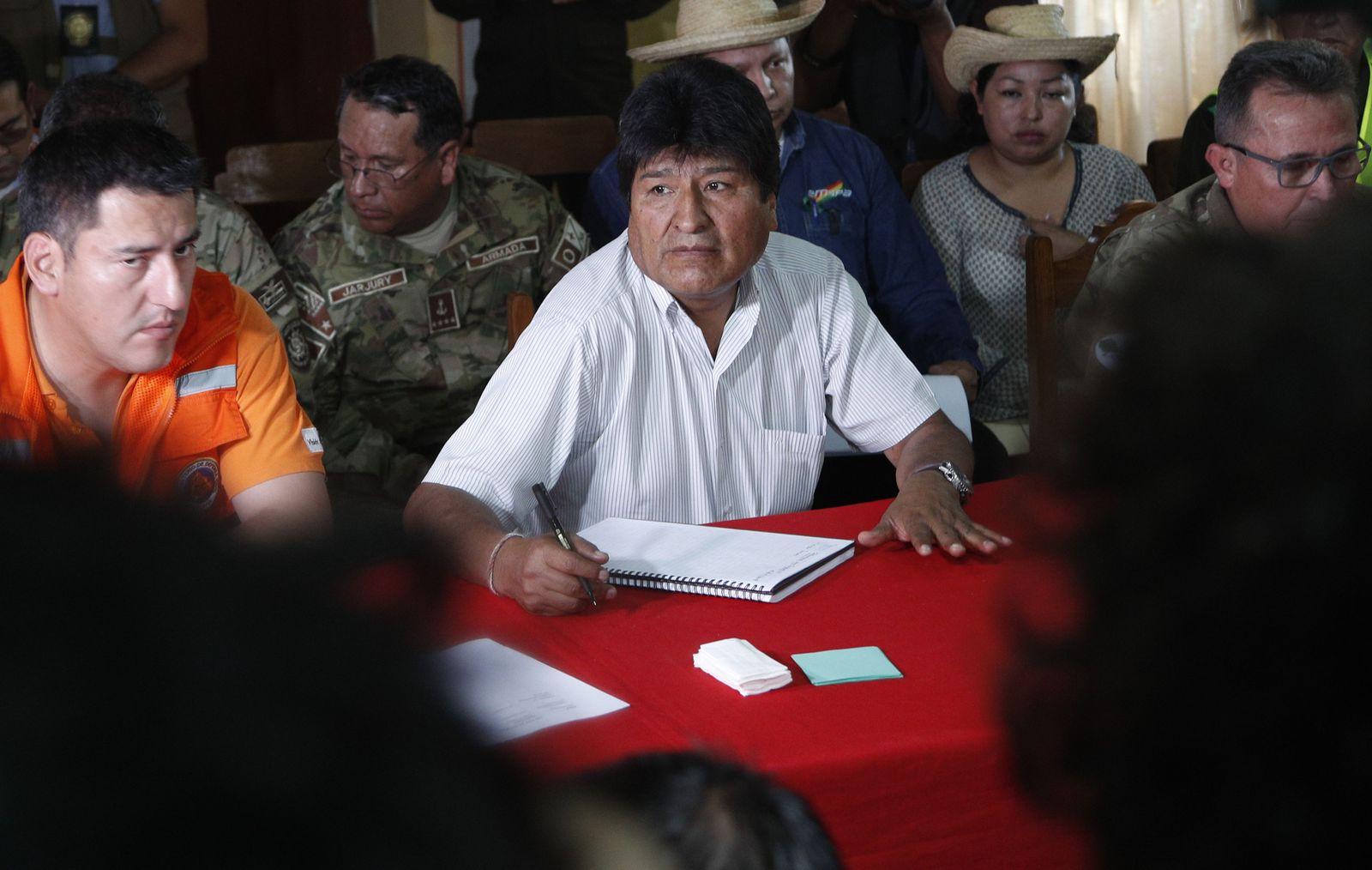 Bolivien/ Waldbrand