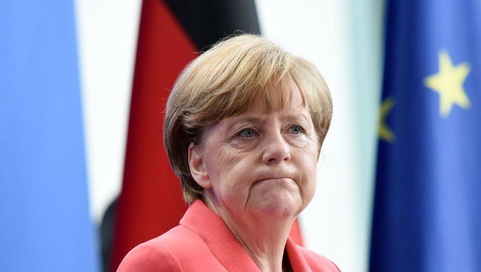 """Kanzlerin Merkel: """"Griechenland will sich nicht an die Grundsätze Europas halten"""""""